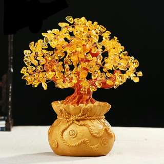 CITRINE CRYSTAL Money TREE TO ATTRACT WEALTH