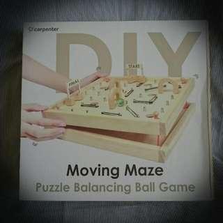 Moving Maze Puzzle Balancing Ball Game
