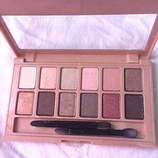 The Blushed Nudes By Maybelline