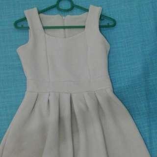 Jellybean Dress Nude/Tan Freesize