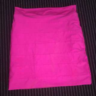 Hot Pink Kookai Skirt