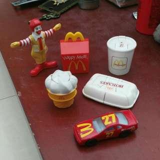 Various Mcdonald Toys