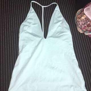 Blue Kookai Singlet Top