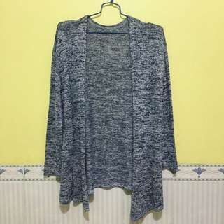 Outer Sweater Navy White