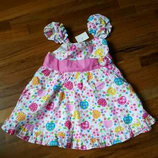 Brand new with tag baby girl dress