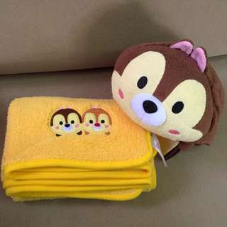 Disney Chip & Dale Tsum Towel in Plush Toy [In Stock]
