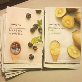 Innisfree It's Real Squeeze Sheet Mask