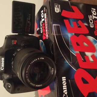 Cannon Rebel T6i Amazing Package 3 Weeks Old!!! Have Proof
