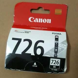 Cheap BNIB Genuine Canon 726 BK Ink