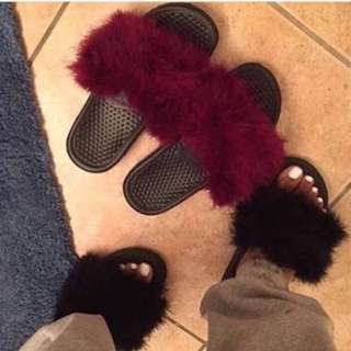 Vivi Fur Slippers