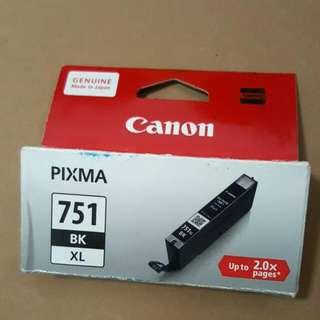 Cheap BNIB Genuine Canon 751 BK XL Ink