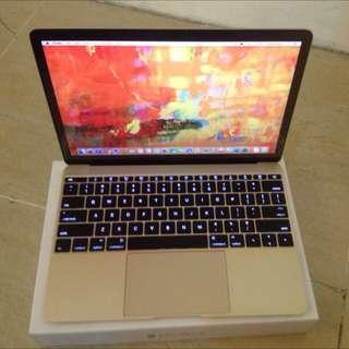 macbook 12 inch, 512 SSD, GOLD