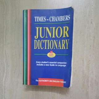 Times Chambers Junior Dictionary 4th Edition