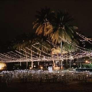 FOR RENT: Full Venue Overhead Fairy Lights