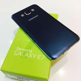🔥三星 Samsung E7 質感消光藍 非J7 A7