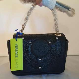 Versace Jeans Leather Bag Genuine Imported From Italy