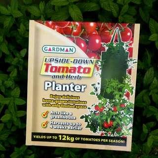 New Gardman Upside Down Tomato And Herb Planter