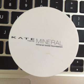 (hold)Kate Mineral Loose Foundation Powder