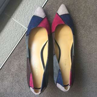 Nine West Colourful Mid Heel