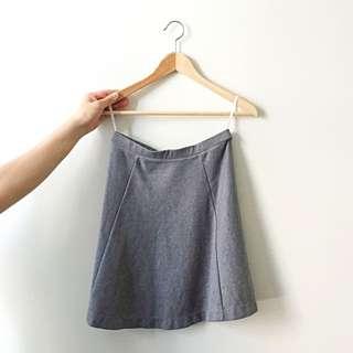 Uniqlo A-line Mini Skirt