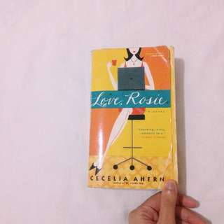 LOVE ROSIE by Cecilia Ahern