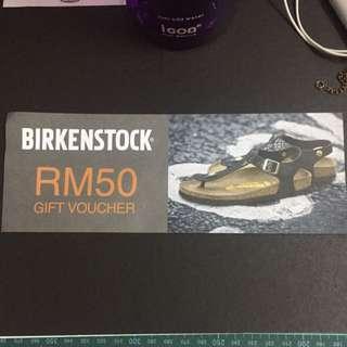 Birkenstock RM50 Gift Voucher