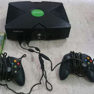 X Box Console With 02 X Controller S