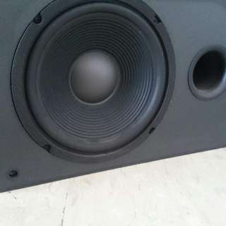 JBL PSW-1000 Discrete Output, High Current Powered Subwoofer