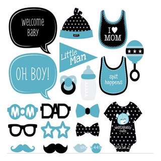 Baby Shower Props - 20 designs