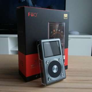 FiiO X3 II 2nd Gen Titanium MINT LOCAL SET