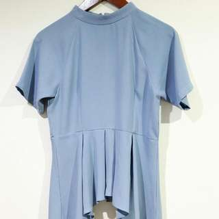 BERRYBENKA Sky Blue Top