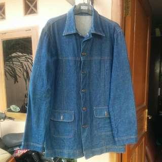 Coat Denim/Jeans Custom Size M