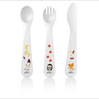 Philips Avent Toddler Cutlery Set 18m+ (SCF714/00)