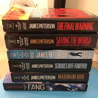 Maximum Ride Series (until 6th book)