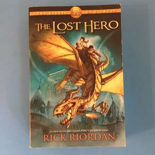 The Lost Hero (first edition)