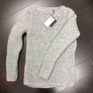 ASOS灰色毛衣