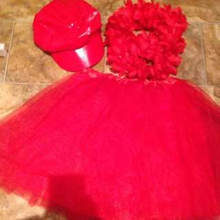 Red Costume Items