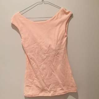 Kookai Light Orange Top Size 1
