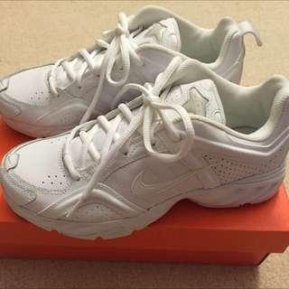 Nike White Training Shoes