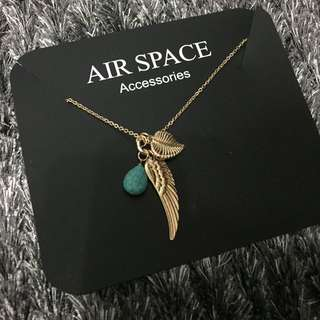 air space 長項鍊 羽毛