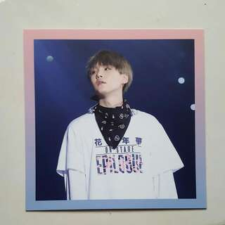 Wtt/wts Suga On Stage Photocard