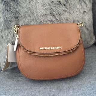 Michael Kors Bedford Hip Bag - Walnut With Gold tone Hardware