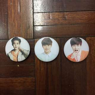 EXO Suho Unofficial Badges