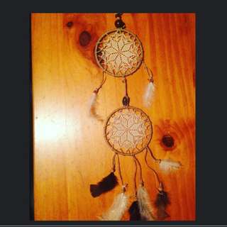 Two Ring Dream Catcher