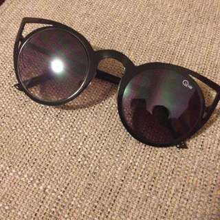 Quay Australia Black Invader Sunglasses