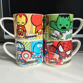 Marvel Collection Mugs from Darlie