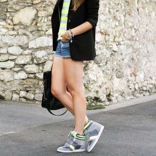 SERAFINI Manhattan Fluo High Heel sneakers