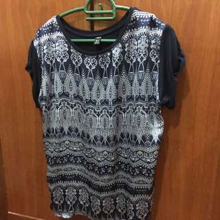 Tribal Pattern Top (brands Outlet)