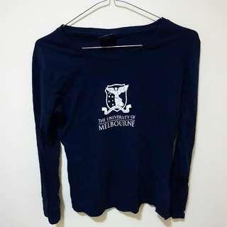 University Of Melbourne Dark Blue Shirt Size 8