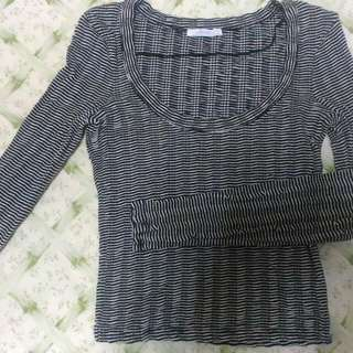 ZARA KNITTED TOP